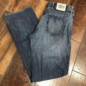 GAP 1969 Straight Denim Blue Jeans Mens 38X34